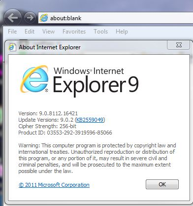 Secure internet explorer 9 browsing hardening ie9 for Web and windows